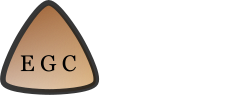 EGC logo 244 with 3 pixels added to white bars