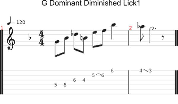 G HW Dim scale lick 1