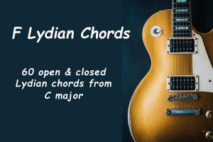 F Lydian Chords (Key Of C Major)