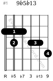 9b5b13 guitar hord