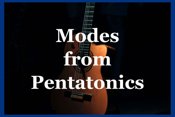 The Pentatonic Scale And Major Scale Modes