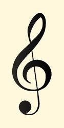 Treble clef or G-clef