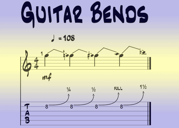 Guitar Bends: How To Bend Guitar Strings