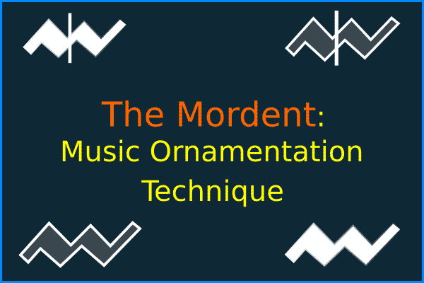 Music Ornamentation: Mordent For Guitar