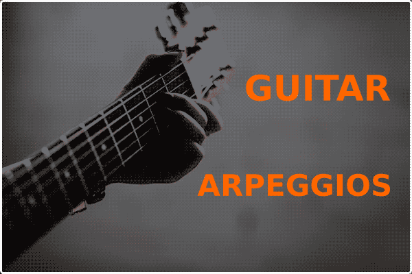Arpeggios On Guitar (Guitar Soling Technique)