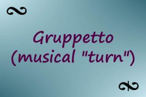 Gruppetto Ornamentation (Turn In Music)